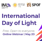 INL - International Day of Light - free webinar
